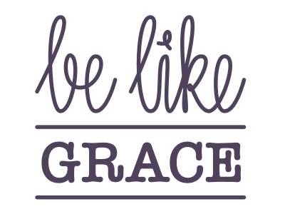 Logo be like grace